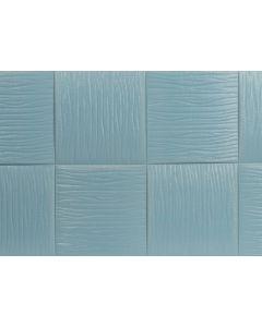 اصق الحائط السحرى شكل موجة - اللون الازرق