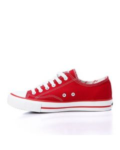 Activ Stitched Fashionable Lace Up Shoes - Red-38
