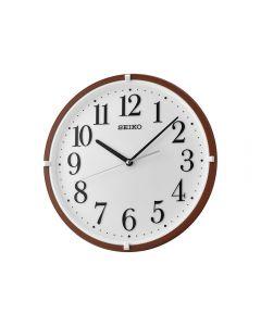 ساعة حائط سيكو برواز بلاستيك QXA930B