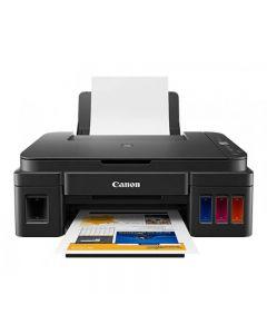 Canon PIXMA Inkjet Multifunction Printer, Black - G2411