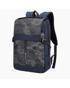 ARCTIC HUNTER 15.6 USB Waterproof Anti Theft Laptop Bag Nvy/Flag