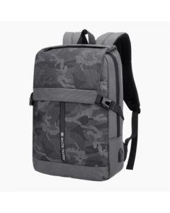 ARCTIC HUNTER 15.6 USB Waterproof Anti Theft Laptop Bag Gry/Flag