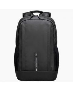 ARCTIC HUNTER B00386 Laptop Backpack, USB Charging Port Black