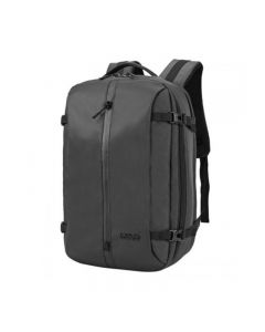 Arctic Hunter 1500346 15.6-inch Oxford Leather Laptop Waterproof Backpack With USB & aux Ports – Black