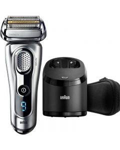 Braun Series 9 9290cc Electric Wet & Dry Foil Shaver With Clean & Charge Station