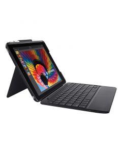 Logitech SLIM FOLIO Keyboard case with Bluetooth for iPad (7rd gen)