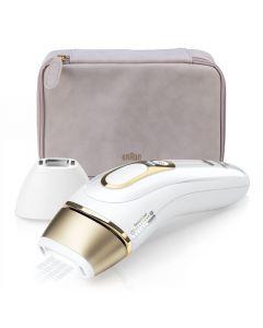 جهاز Braun IPL Silk Expert Pro 5 PL5124 هو أحدث جيل من أجهزة IPL مع سيدة Shave