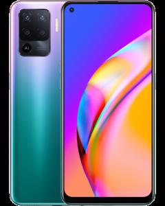 هاتف A94 ثنائي الشريحة مع ذاكرة رام سعة 8 جيجابايت وذاكرة داخلية سعة 128 جيجابايت ويدعم تقنية 4G LTE بلون بنفسجي فانتاستيك