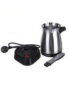 ماكينة صنع القهوة التركية الكهربائية من الإستانلس ستيل طراز SK-214 0.5 لتر SK-214 فضي