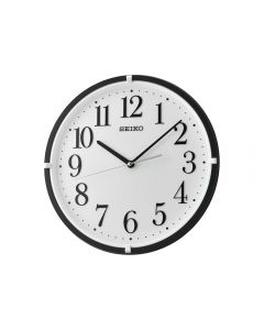 ساعة حائط سيكو برواز بلاستيك QXA930K