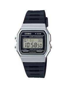 Casio Unisex Digital Watch Resin  F-91WM-7ADF