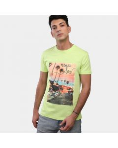 Coup Graphic T-Shirt Green