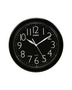 Casio IQ-01S-1DF Wall Clock - Black