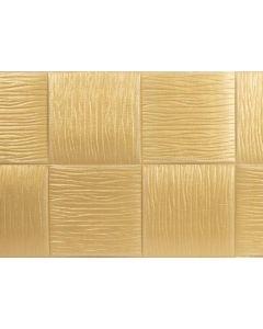 لاصق الحائط السحرى شكل موجة - اللون الذهبي