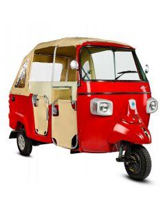 Piaggio APE Romanza Tuk-Tuk, 197cc, Red