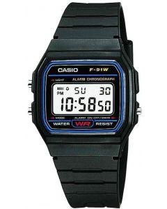 Casio For Men-Digital, Sport Watch, Resin F-91W-1DG