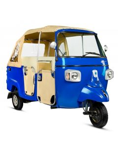 Piaggio APE Romanza Tuk-Tuk, 197cc, Blue