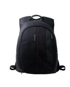لافينتو (BG913) حقيبة ظهر لاب توب 15.6 بوصة - أسود مع خط أحمر