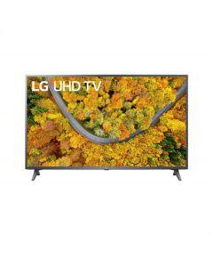 تلفزيون ال جي LED سمارت 43 بوصة، دقة 4K UHD مع ريسيفر داخلي - 43UP7750PVB