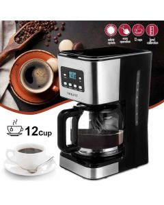 Sokany ماكينة صنع القهوة 950 وات - 12 كوب / 1.5 لتر