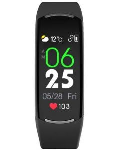 ساعة أنفنيكس (سلسلة 5) الذكية، اسود - XB05