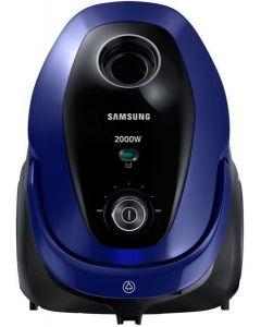 سامسونج مكنسة كهربائية 2000 وات بنظام كيس القماش سعة 2.5 لتر لون أزرق VC20M2510WB/GT