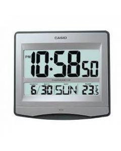 Casio ID-14S-8DF Alarm Clock - Silver