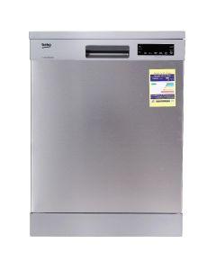 غسالة أطباق بيكو، 15 فرد، 8 برامج، موتور انفرتر، فضي- DFN28520X - غسالة اطباق