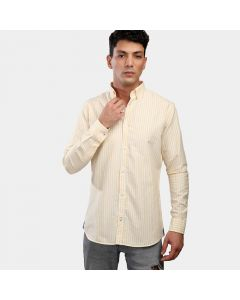 Coup Striped Long-Sleeves Shirt