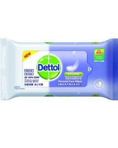 Dettol Wipes Sensitive 10 Pcs