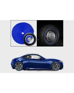 شريط حماية إطارات السيارة - ازرق