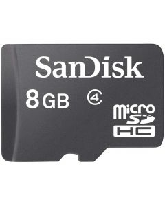 بطاقة ذاكرة سانديسك متوافقة مع متعدد، بطاقات مايكرو اس دي، 8 جيجابايت - SDSDQM-008G-B35