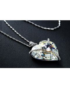 سلسلة القلب في القلب ، أرجواني / بنفسجي - CNA-0487A
