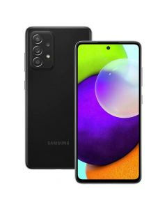 هاتف سامسونج جالاكسي A52 ثنائي الشريحة ، سعة 128 جيجابايت ، 8 جيجابايت رام ، 4 جي إل تي إي ، أسود