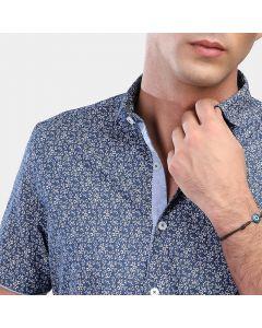 Coup Short Sleeve Flower Shirt 1270021