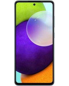 هاتف سامسونج جالاكسي A52 ثنائي الشريحة ، سعة 128 جيجابايت ، 8 جيجابايت رام ، 4 جي إل تي إي ، أزرق