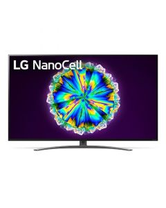 تلفزيون سمارت ال جي 55 بوصة LED، بدقة 4K سوبر UHD، بريسيفر داخلي - 55NANO86VNA