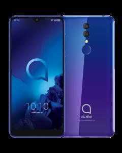 Alcatel 3 Dual SIM  64GB 4GB RAM 4G LTE Purple Blue