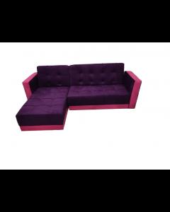 ركنة سرير مقاس 220×170×45 موف×فوشيا