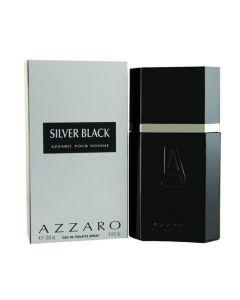 Azzaro Sliver Black Eau De Toilette For Men 100ml