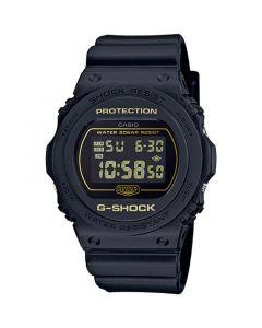 ساعة كاجول جي شوك كاسيو للرجال، ديجيتال، سوار بلاستيك، اسود  - DW-5700BBM-1DR