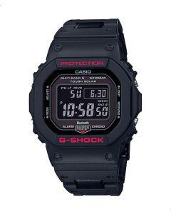 ساعة كاجوال جي شوك كاسيو للرجال، ديجيتال، سوار سيليكون، اسود - GW-B5600HR-1DR