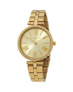 ساعة يد رسمية انالوج بعقارب ستانلس ستيل ماكي للنساء من مايكل كورس MK3903