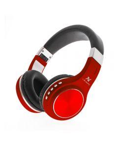 سماعات رأس لافينتو بلوتوث قابلة للطي، احمر - HP10R