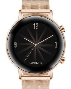 ساعة سمارت هواوي، 42 مم، ذهبي - GT 2