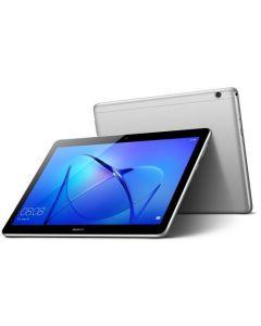 هواوي ميديا باد T3 -حجم الشاشة 10 انش, 16 جيجا, 2 جيجا رام, الجيل الرابع ال تي اي, رمادي