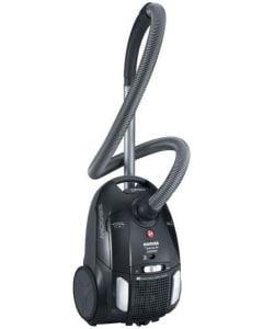 مكنسة كهربائية هوفر 2300 وات لون أسود مزودة بفلتر هيبا TTE2305020