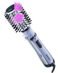 Babyliss 2735E Hair Styler Rotating Brush with 4 attachments and bag 1000 Watt Ionic