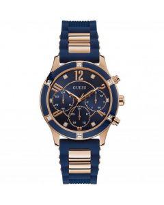 ساعة جيس النسائية ، نسيم كوارتز ، الماس الأزرق ، مينا زرقاء W1234L4.5