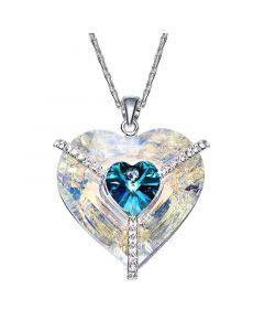 سلسلة القلب في القلب، ياقوت ازرق - CNA-0487S